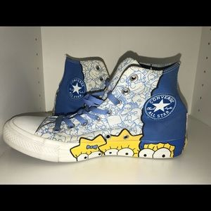 The Simpsons Converse High Tops